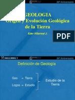 Origen Evolucion Geologica Tierra Villarreal