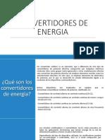 Convertidores de Energia