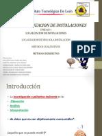 Diseño y Planeacion de Instalaciones