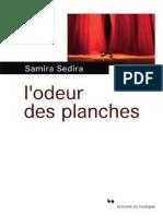 L Odeur Des Planches-