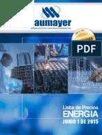 Lista de Precios Energia Laumayer