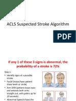 ACLS Suspected Stroke Algorithm.pptx