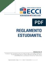 RG DP 001 Reglamento Estudiantil V13