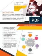 QMS Software for ISO 9001 Implementation and certification with  Myeasyiso Rev02 09062017