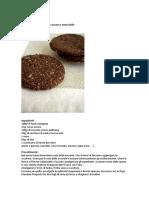 Biscotti Integrali Al Cacao e Nocciole