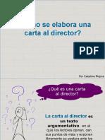 Cómo Elaborar Una Carta Al Director