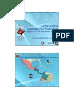 Central America Probabilistic Risk Assessment A regional SDI for disaster risk reduction