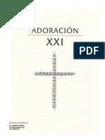 170601066 Partituras Himnario Espana Adoracion XXI PDF
