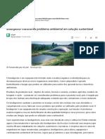 Biodigestor Transforma Problema Ambiental Em Solução Sustentável