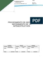 Procedimiento de Gestion de La Infraestructura