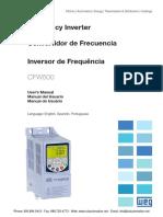 Weg Cfw500 Manual