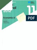 Livro - Preparação Para o Exame Nacional 2012 Economia A