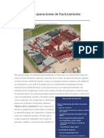Evaluación de Operaciones de Fracturamiento Hidráulico