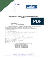 Caracteristicile si modul de utilizare ale elementelor pentru fundatie.doc