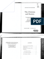 Hans Urs von Balthasar - The Christian and Anxiety.pdf