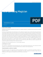 Samsung New Magician Installation Guide