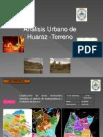 Practicas 01 - analisis urbano de huaraz