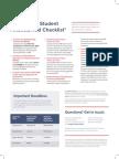 Financial Aid Checklist Prospectives 17