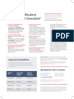 Financial Aid Checklist Prospectives 17
