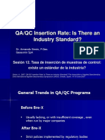 12-QAQC Insertion Rate-Is There an Industry Standard-V6.7
