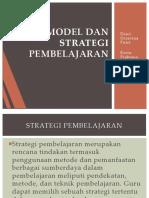 Model Dan Strategi Pembelajaran2