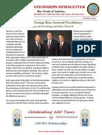 October 2013 LDS BSA Newsletter