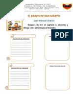 Actividades Para El Barco de San Martín