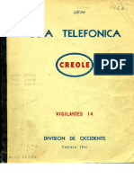 1965 Creole West Div Phone Book