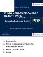Calidad de Software - Conceptos Basicos