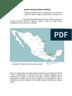 Proyeccion de la Produccion de gas natural en mexico