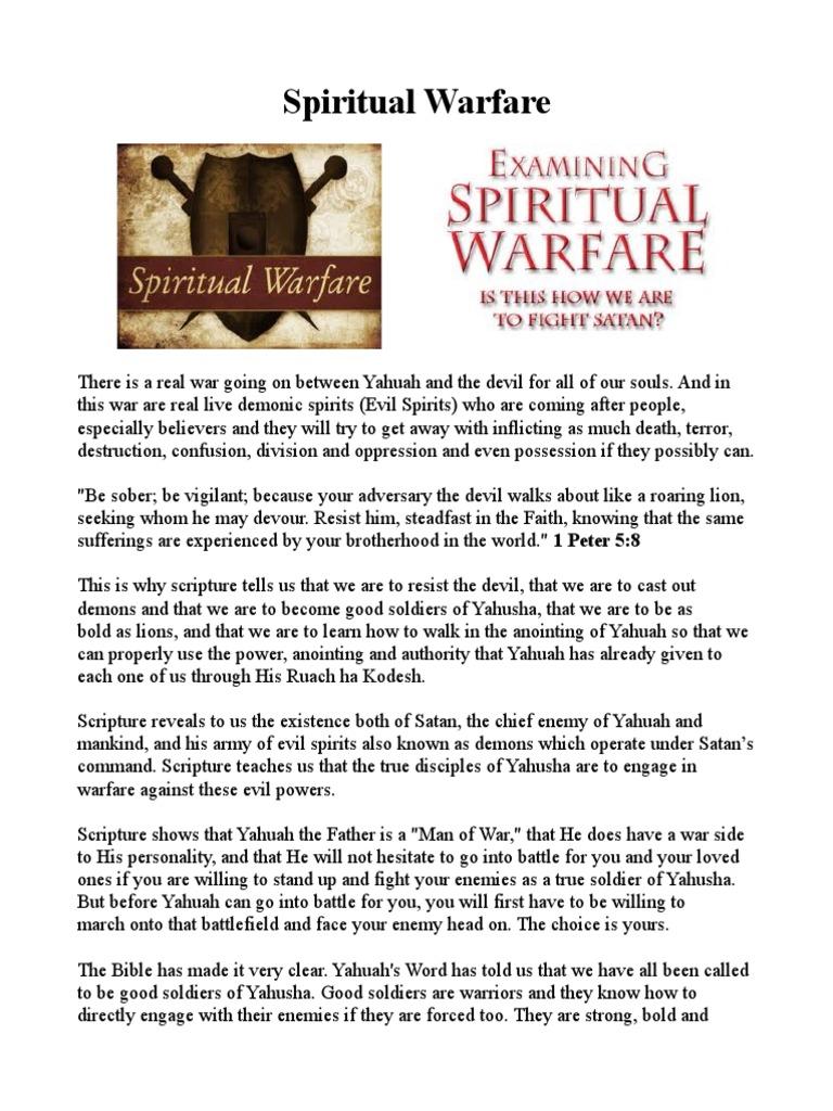 Spiritual Warfare | Demons | Devil
