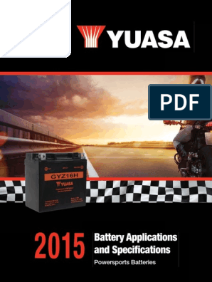 /'03 Bateria AGM 12 Volts Yuasa YTX12-BS Kawasaki ZX750-P Ninja ZX-7R 96