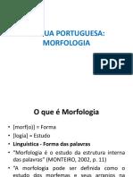 Morfologia - Aula 01