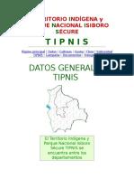 Territorio Indígena y Parque Nacional Isiboro Sécure