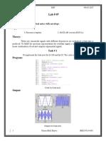 Digital Signal Processing Lab # 7.docx