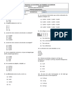 Bimestral de Matematicas