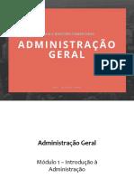 Slides Adm Geral EVP - Rodrigo Rennó
