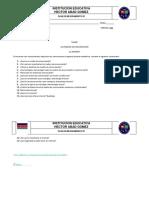 Planes de Mejoramiento TECNOLOGIA Grado 7 2p