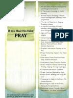 Flyer Pray