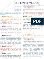 Linea Del Tiempo de MS-DOS