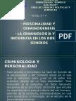Criminologia Tema 3 y 4