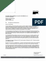 Contract Between Gov. Hickenlooper's Office and Brownstein Hyatt Farber Schreck LLC