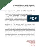 Perfil de sensibilidade a antimicrobianos de bactérias isoladas do trato 2 respiratório baixo de pacientes com pneumonia internados em hospitais brasileiros.docx