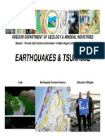 EQTsunami Presentation OregonCoast