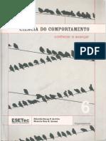 Ciência Do Comportamento - Conhecer e Avançar (Vol 6) Maxleila Reis Martins Santos e Eduardo Neves P de Cillo, 2007 (INDEX)