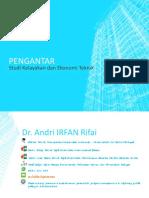1. Pengantar Studi Kelayakan & Ekotek