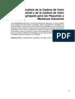 Análisis de La Cadena de Valor Industrial Para Las Pequeñas y Medianas Industrias