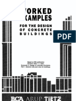 BCA - Worked Examples Design of Concrete Building