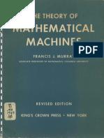 Murray Theory of Mathematical Machines 1948