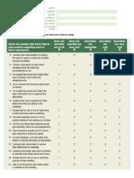 HRD 3 Questionnaire